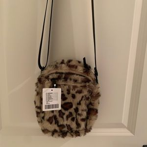 Urban Outfitters Leopard Crossbody Purse